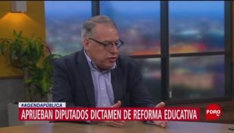 FOTO: Aprobación del dictamen de la reforma educativa, 31 Marzo 2019