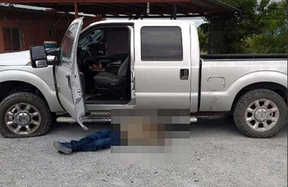 Foto: Matan al hijo del exalcalde de Los Ramones, 13 de marzo 2019. Twitter @retodiariomx