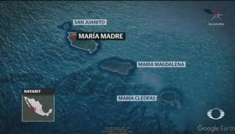 FOTO:Así lucen las Islas Marías, 18 Marzo 2019