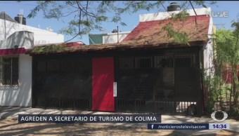Foto: Atacan a secretario de Turismo de Colima