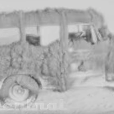 Video restaurado muestra efectos de explosión nuclear en vehículos