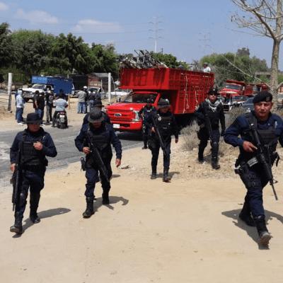 Balacera entre transportistas deja 3 heridos en Oaxaca