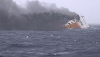 francia intenta contener derrame de petroleo en costa atlantica