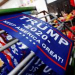 Foto: Letrero para la campaña para reelección de Trump, 24 de julio de 2018