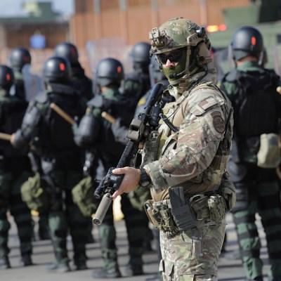 Ejército de EU capacita a agentes de la Patrulla Fronteriza y de Aduanas