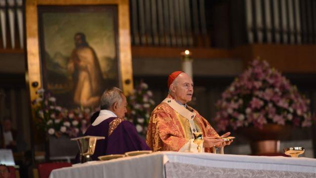 Imagen: El cardenal Carlos Aguiar Retes pide evitar enfrentamientos por el tema del aborto, el 10 de marzo de 2019 (Cuartoscuro, archivo)