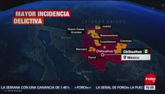 FOTO: Chihuahua realiza mapa de la violencia, 16 marzo 2019