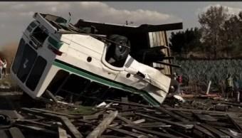 Foto: Choque en Guanajuato deja tres muertos, 19 de marzo 2019. (Noticieros Televisa)