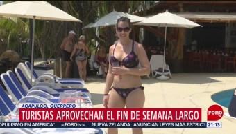 FOTO: Cientos de turistas llegan al puerto de Acapulco, 16 marzo 2019