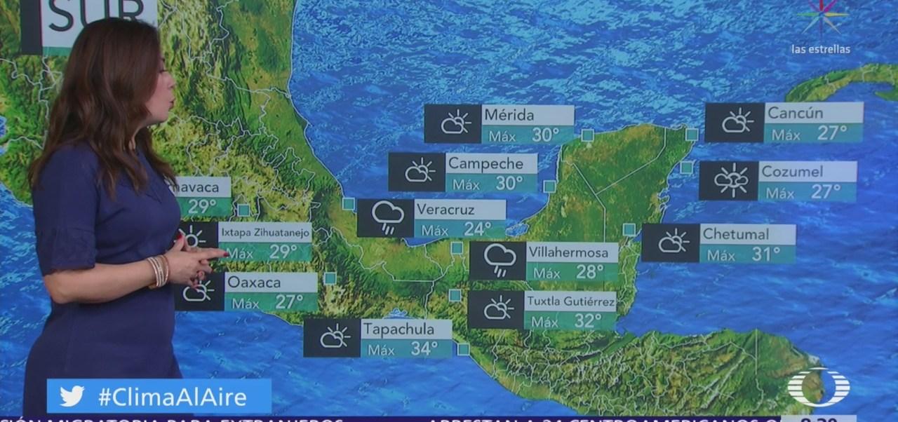 Clima Al Aire: Prevén lluvias en 24 estados de México