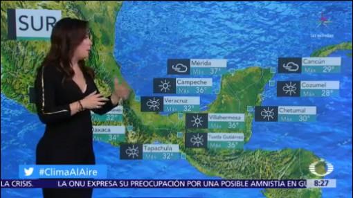 Clima Al Aire: Pronostican nueva baja de la temperatura en México