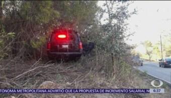 Comando armado ataca a integrantes de la Fiscalía de Edomex