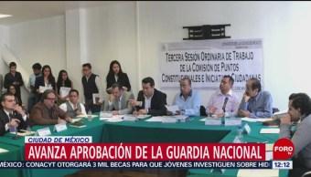 Comisión del Congreso CDMX aprueba decreto de Guardia Nacional