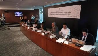 Empiezan comparecencias de candidatos a magistrados al TEPJF