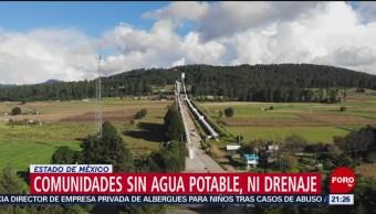 Foto: Comunidades cercanas al Cutzamala no tienen agua potable y drenaje