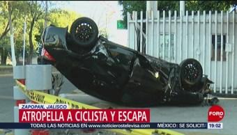 Foto: Conductor Atropella Ciclista Zapopan Jalisco 21 de Marzo 2019
