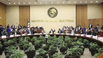 INE impone sanciones a partidos políticos y a independientes