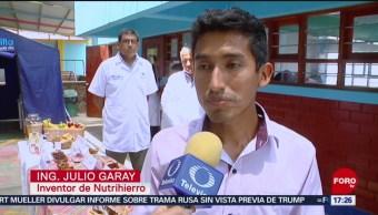 FOTO:Crean galleta que ayuda a combatir la anemia en Perú, 24 Marzo 2019