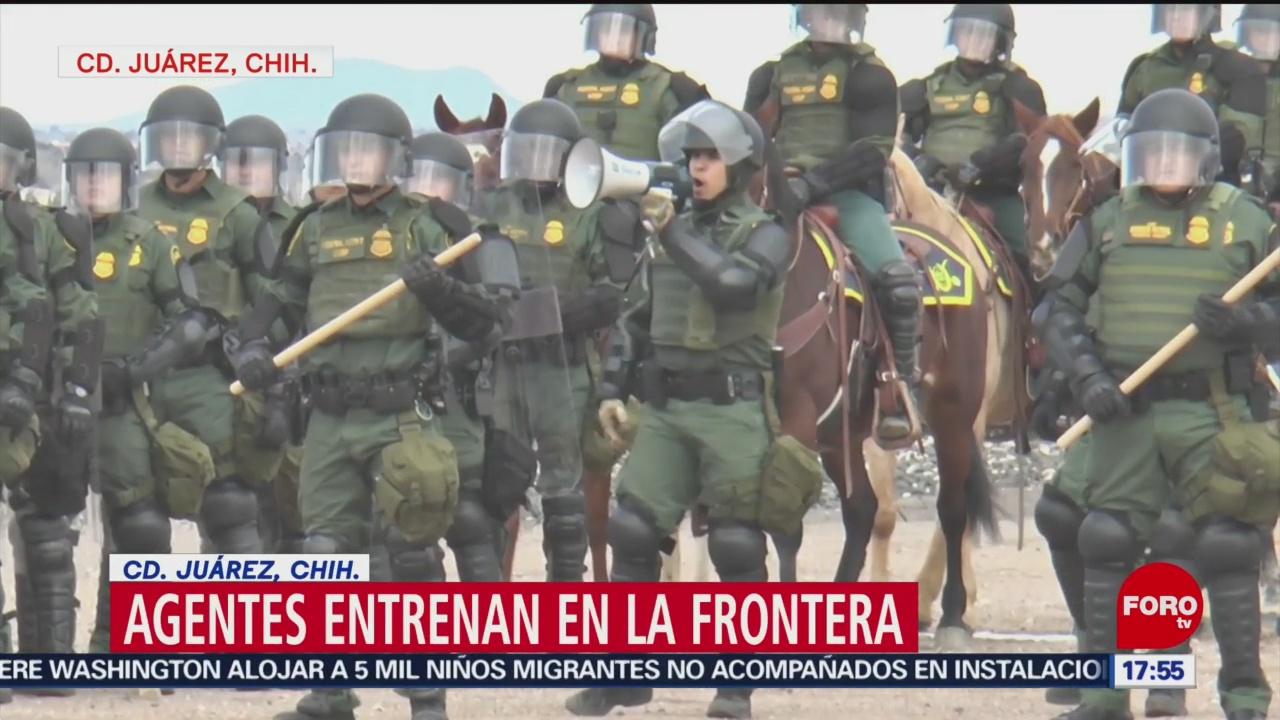 Foto: Crisis migratoria pone en alerta a agentes estadounidenses