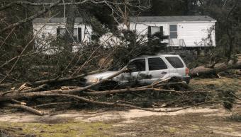 Foto: Daños por tornado en Alabama, 4 de marzo de 2019, Estados Unidos