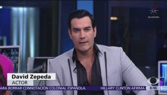 David Zepeda presenta nueva temporada de 'Por Amar Sin Ley'