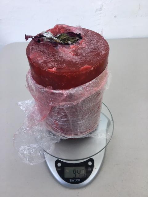 Foto: Decomisan marihuana oculta en 40 veladoras aromáticas 25 marzo 2019