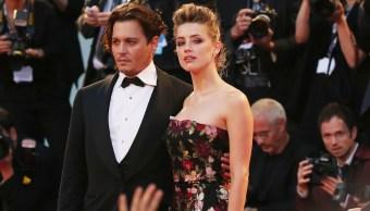 Foto: Johnny Depp y la actriz Amber Heard en Venecia el 5 de septiembre de 2015 (Getty Images)