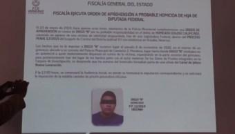 Detienen a otro implicado en el crimen de la hija de la diputada Carmen Medel