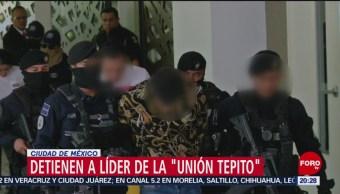 Foto: Detienen Líder La Unión Tepito Huguito 1 de Marzo 2019