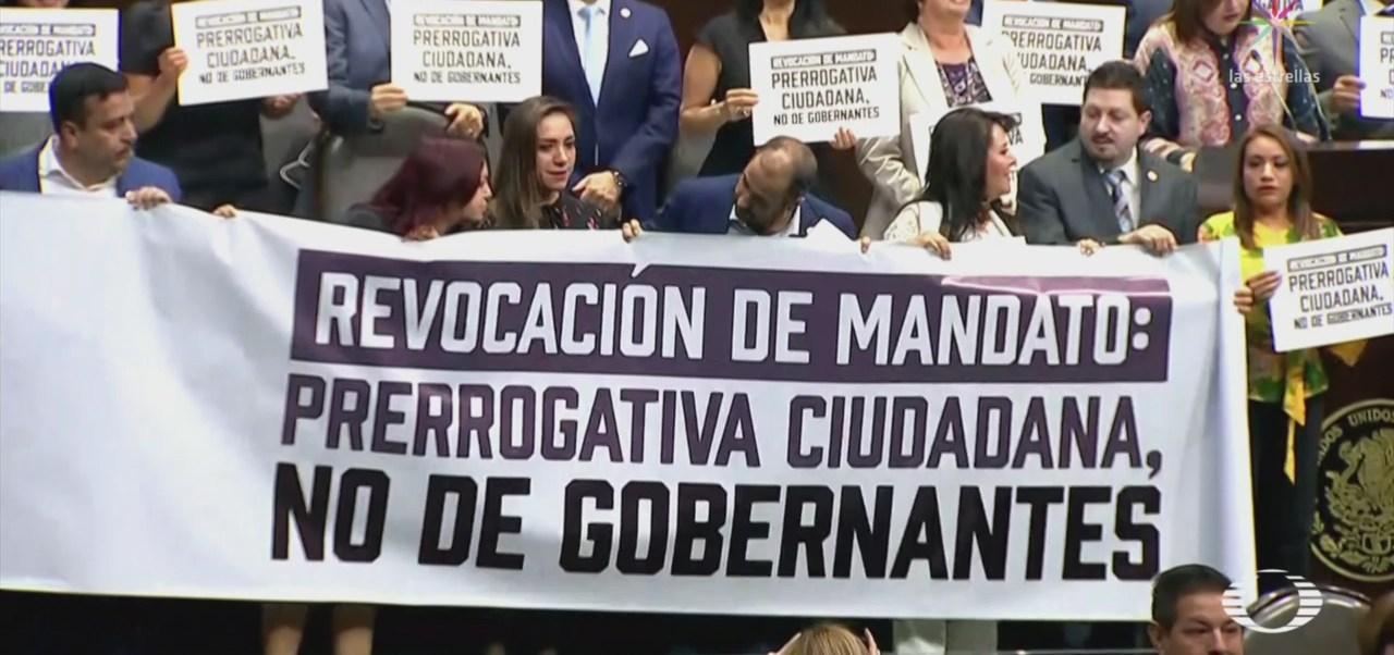 Foto: Diputados Reforma Constitucional Consulta Popular Mandato AMLO 14 de Marzo 2019