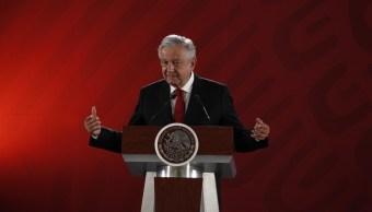 foto Andrés Manuel López Obrador amlo conferencia 11 marzo 2019