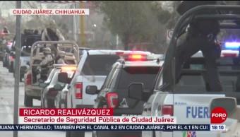 Foto: Ejército patrulla zonas violentas de Ciudad Juárez
