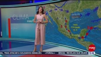 Foto: Clima 'A las Tres' con Daniela Álvarez del 20 de marzo de 2019