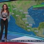 Foto: El clima, con Mayte Carranco del 12 de marzo de 2018