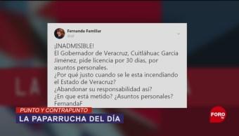 Foto: Gobernador Veracruz Paparrucha Del Día 22 de Marzo 2019