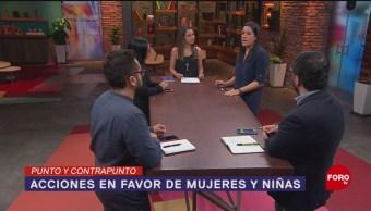 Foto: Apoyo Mujeres Violencia Gobierno AMLO 6 de Marzo 2019