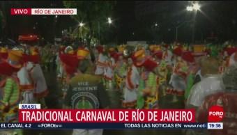 FOTO: El tradicional Carnaval de Río de Janeiro en Brasil, 3 marzo 2019