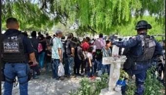 Foto: migrantes rescatados en Tamaulipas, 14 de marzo 2019. Noticieros Televisa