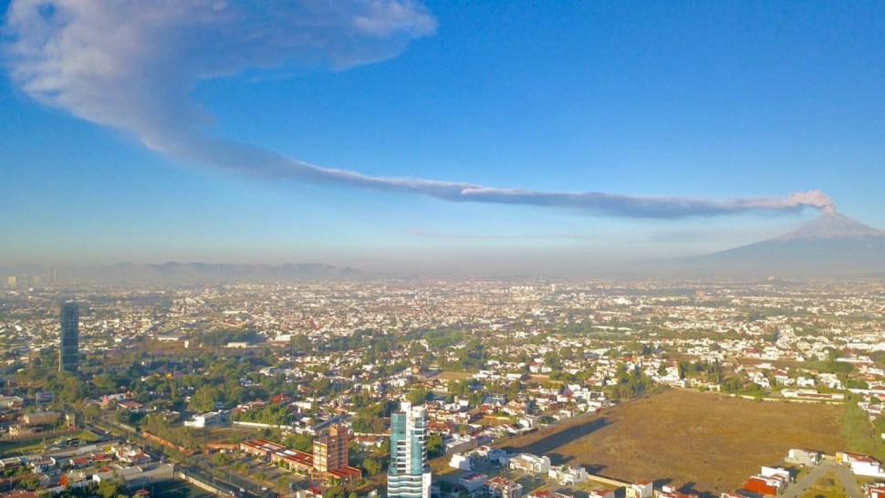 Foto Elevan alerta volcánica del Popocatépetl a Amarillo Fase 3 28 marzo 2019