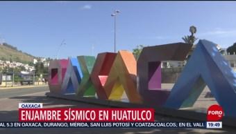 Foto: Enjambre Sísmico Huatulco, Oaxaca 21 de Marzo 2019