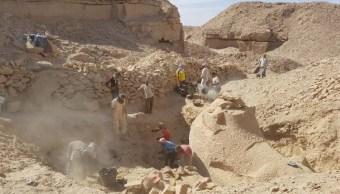 Foto Descubren esfinge cabeza carnero Egipto 1 marzo 2019
