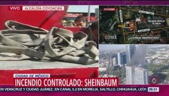 FOTO: Está controlado el incendio en edificio de Conagua: Sheinbaum, 23 Marzo 2019