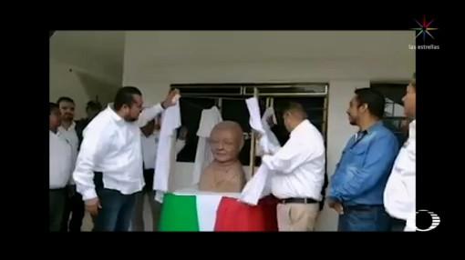 Foto: Historia Busto Benito Juárez SLP 22 de Marzo 2019