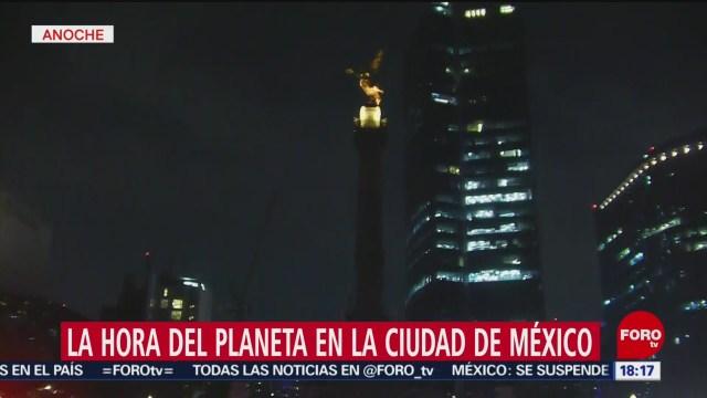 FOTO: Estados de México se unen a la Hora del Planeta, 31 Marzo 2019