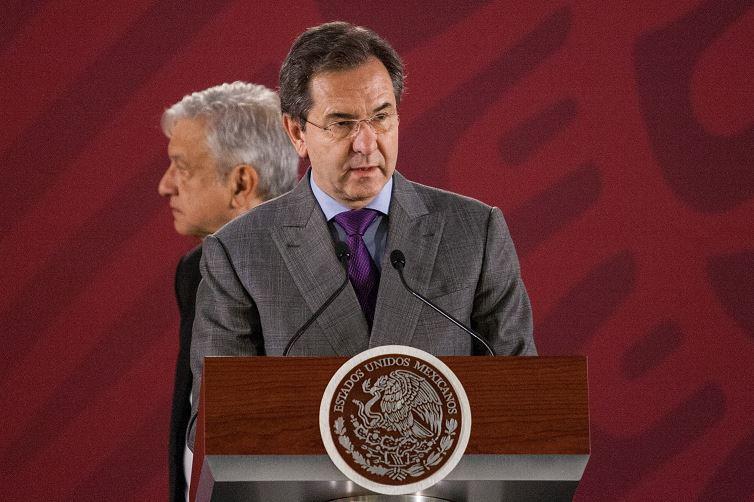 Foto: Esteban Moctezuma, secretario de Educación Pública, presenta su nuevo plan educativo para sustituir la reforma educativa, 21 marzo 2019