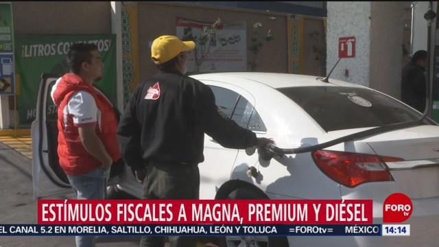 FOTO: Estímulos fiscales a Magna, Premium y diésel, 30 Marzo 2019