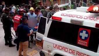 Foto: Explosión en mina de Dagua, Colombia, 21 de marzo 2019. Twitter @BomberosDagua