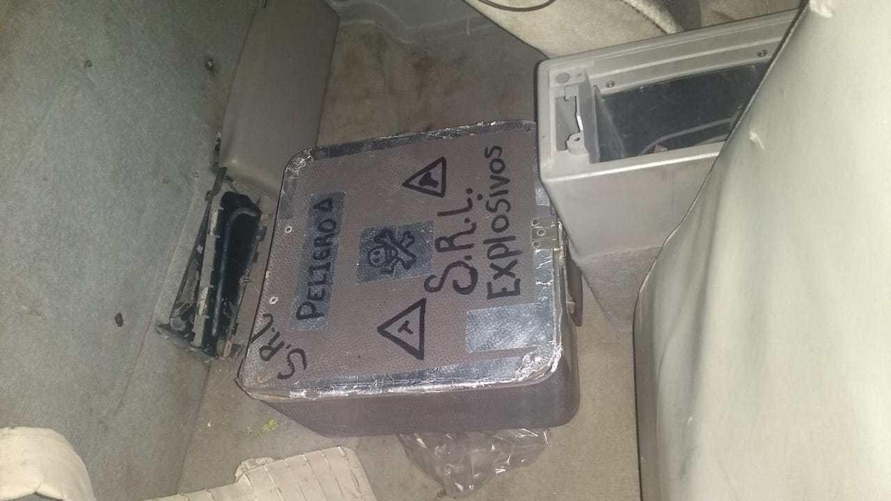 Foto: Hallan artefacto explosivo en Guanajuato, 20 de marzo 2019. Noticieros Televisa