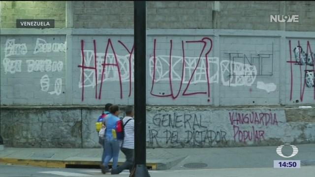 Foto: Falta de energía eléctrica agudiza crisis en Venezuela
