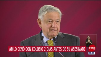 Familia de asesino de Colosio pide a López Obrador reabrir caso